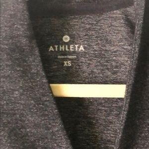 Athleta Tops - Athleta Krishna Tunic XS heathered grey